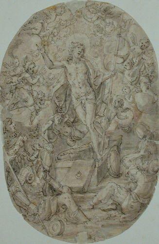 6014: Johann von Aachen German, 1522-1615 RESURRECTION