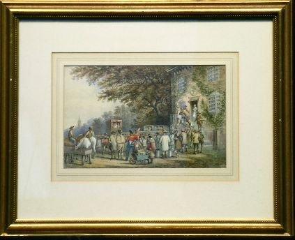 6018: M. Popham British, 19th century OUTSIDE OF THE RO
