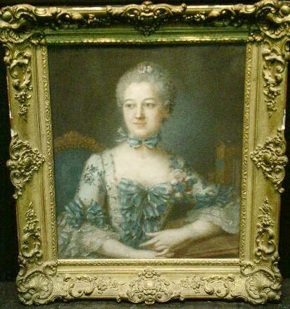 6023: Follower of Francois Hubert Drouais PORTRAIT OF A