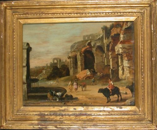 6060: Attributed to Cornelis van Poelenburgh FIGURES AM