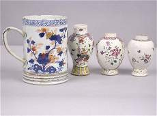 6275 Group of Four Chinese Export Porcelain Items