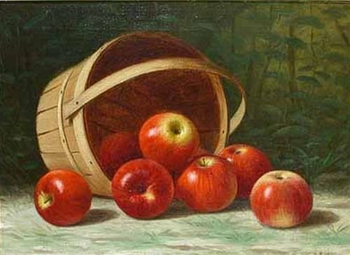 8: Albert Francis King 1854-1945 APPLES, circa 1895