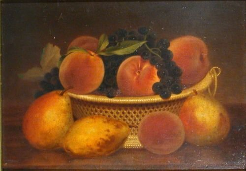 9: Circle of John F. Francis PEARS, PEACHES AND GRAPES