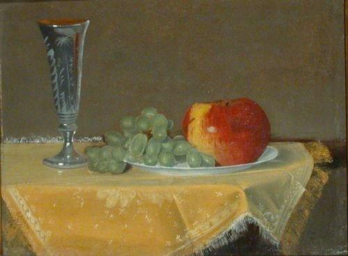 11: Edwin Augustus Moore 1858-1925 STILL LIFE WITH APPL