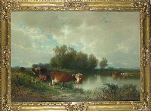 20: William Hart 1823-1894 CATTLE WATERING