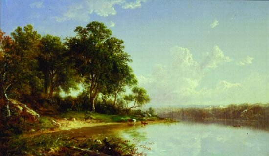 21: David Johnson 1827-1908 AFTERNOON ALONG THE BANKS O
