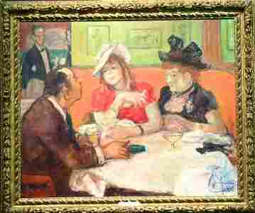 137: Robert Philipp 1895-1981 DINNER FOR THREE AT THE O