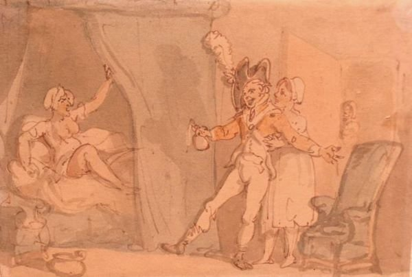 1011: Thomas Rowlandson British, 1756-1827 THE DISAPPOI