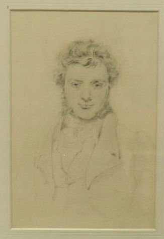 1017: Attributed to Sir Thomas Lawrence British, 1769-1