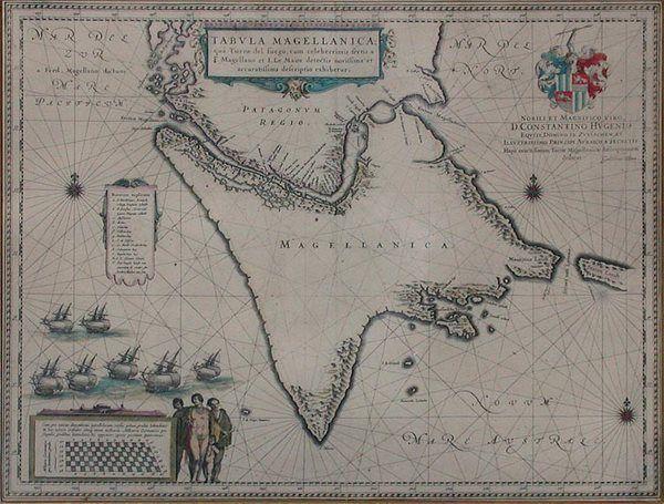 2121: [MAPS] FER, NICOLAS DE [After] A New Map of the E