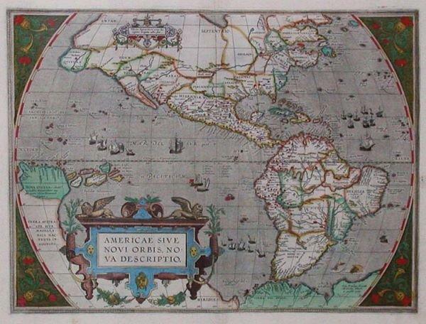 2127: [MAPS] [ORTELIUS, ABRAHAM] Asiae Nova Descriptio.