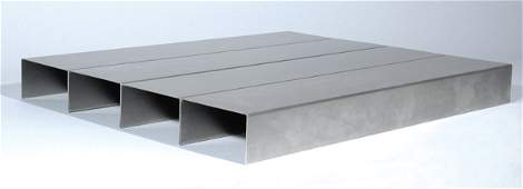 Donald Judd UNTITLED Folded stainless steel