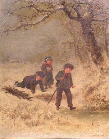 3001: James Crawford Thom American, 1835-1898 WINTER WA