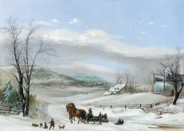 3003: M.L. (Milton Lewis?) Cass American, 19th Century