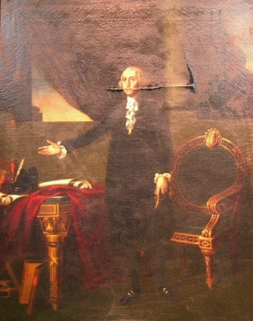 3005: After Gilbert Stuart THE LANSDOWNE PORTRAIT OF GE