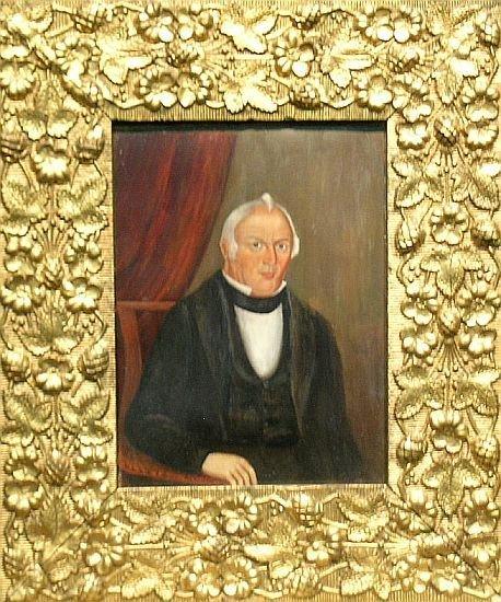 3011: Manner of Sheldon Peck PORTRAIT OF A GENTLEMAN, P