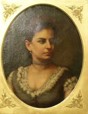 3018: American School 18th/19th Century PORTRAIT OF A W
