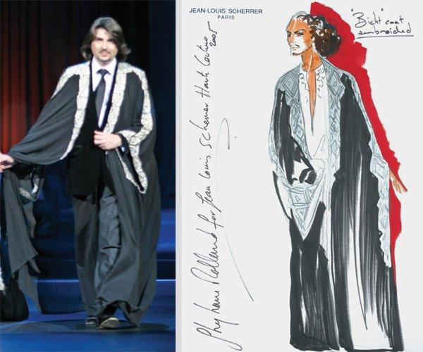 19: Stephane Rolland for Jean-Louis Scherrer Gentleman'