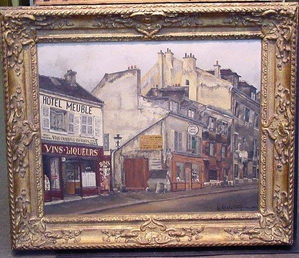 3021: Germain Delatousche French, b.1898 RUE DE LA GLAC