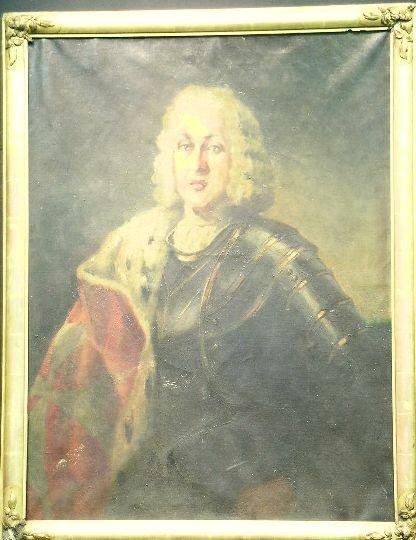 3022: Manner of Nicolas de Largilliere MAN IN ARMOR