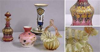 3567: Group of Victorian Glass Articles