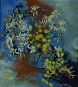 9: Norman Lewis American, 1909-1979 STILL LIFE WITH DAI