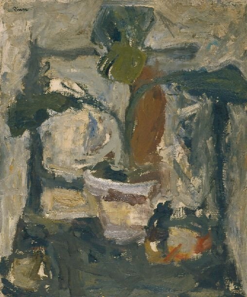 11: Larry Rivers American, 1923-2002 POTTED PLANT