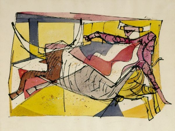 16: Romare Bearden American, 1912-1988 WHAT A GREAT TOR