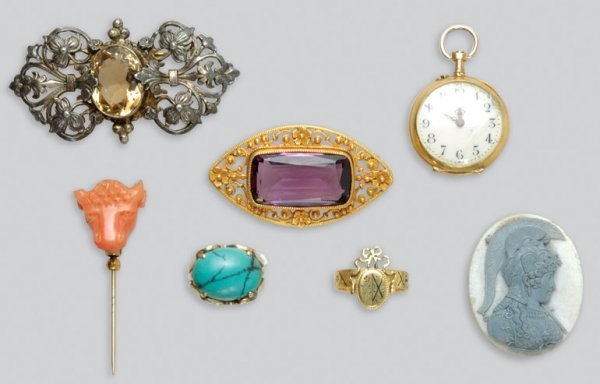 2004: Group of Antique and Assorted Jewelry