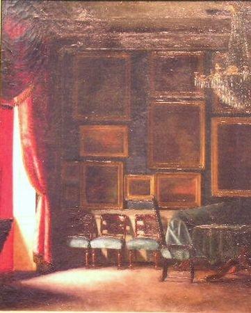3001: Brita Barnekow Danish, 1868-1936 VIEW OF A GRAND