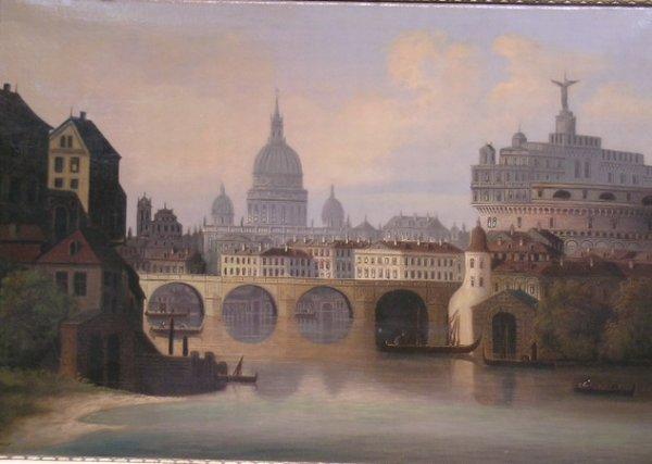 3004: Ferdinand Lepie Czechoslovakian, 1824-1883 SCENE