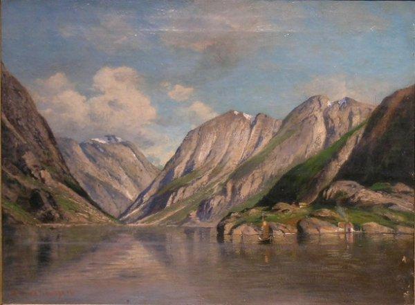 3019: Georg Anton Rasmussen Norwegian, 1842-1914 NORWEG
