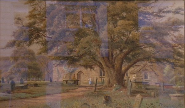3023: Attributed to Charles Harmony Harrison TREE IN A