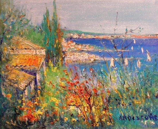 1: Yolande Ardissone French, b.1927 CANAUX HOLLANDAIS