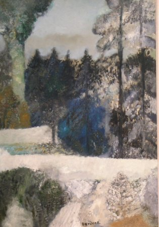 5: Guy Bardone French, b.1927 LA PISTE BLANCE