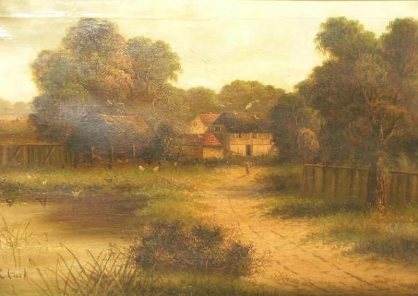 16: H.C. Clark 19th/20th Century RURAL LANDSCAPES: TWO