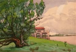 46 Jane Peterson American 18761965 SUNRISE  FLORIDA