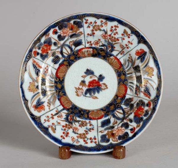 1368: Japanese Imari Porcelain Plate