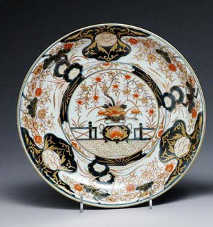 1375: Japanese Imari Porcelain Plate