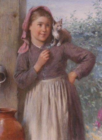 2012: Harry Benjamin Roberts British, 1831-1915 GIRL WI