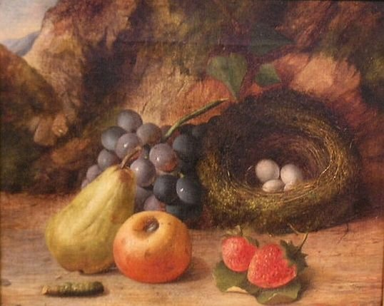 2014: Oliver Clare British, 1853-1927 STILL LIFE WITH F