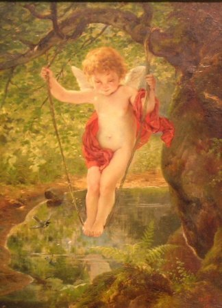 2018: Otto Forsterling German 1843-1904 THE SWING