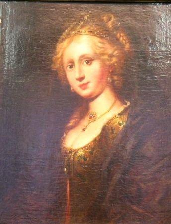 2020: Manner of Peter Paul Rubens PORTRAIT OF HELEN FOU