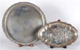 2232 Two Continental Silver Articles