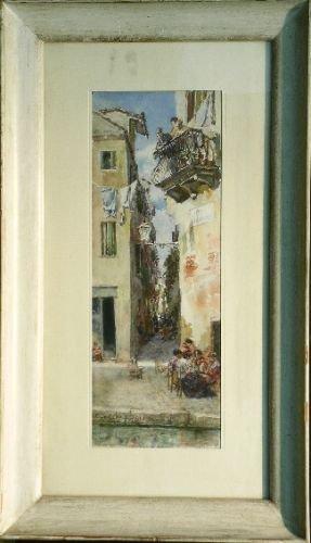 11: Giuseppe da Pozzo Italian, 1844-1919 SCENE IN VENIC