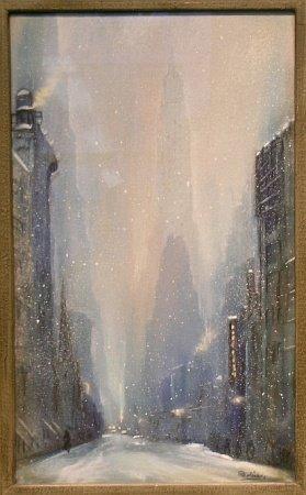 14: Leon Louis Dolice American, 1892-1960 CITY SKYLINE