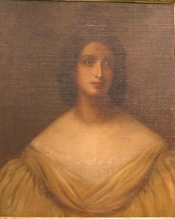 15: English School 19th Century PORTRAIT OF A WOMAN