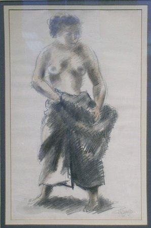 19: Chaim Gross American, 1904-1991 STANDING FEMALE FIG