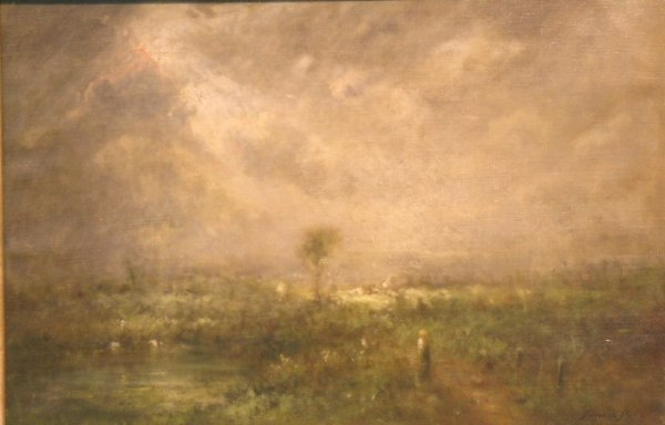 22: George Inness, Jr. American, 1854-1926 THE SHAFT OF