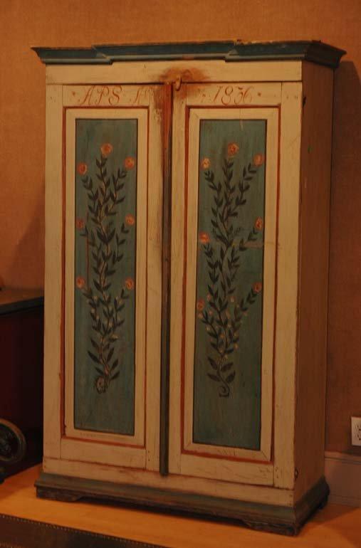 627: Austrian Painted Armoire